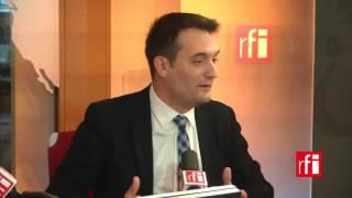 Florian Philippot (FN): « La coalition contre Daech devrait inclure l'Etat syrien »