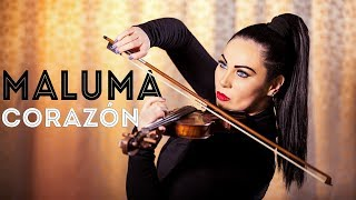 Maluma - Corazón Violin  Cristina Kiseleff Ft. Nego Do Borel