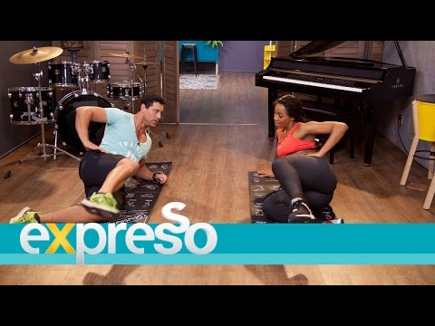 Fitness tips with Sbahle Mpisane 2/2
