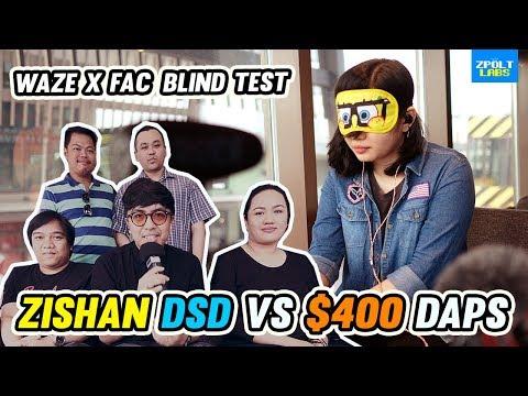 Zishan DSD Vs $400 DAPS Blind Test - Waze X FAC Meet 🔥