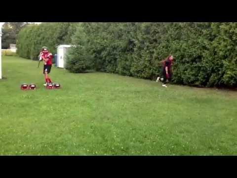 Montreal Blitz Ice Bucket Challenge for ALS