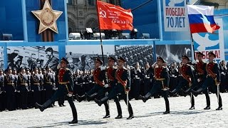 Парад в честь 70-летия Великой Победы на Красной площади в Москве, 9 мая 2015 года(Парад в честь 70-летия Великой Победы на Красной площади в Москве, 9 мая 2015 года Президент России – Верховный..., 2015-05-09T09:54:34.000Z)