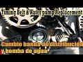 Banda de distribución Bomba de agua Jetta A4