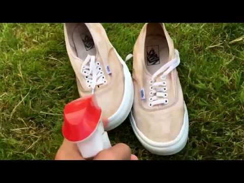 How to clean white vans!!! (100% real)