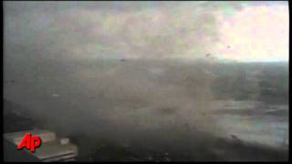 Raw Video: Tornado Strikes Springfield, Mass.(An apparent tornado struck the downtown of one of Massachusetts' largest cities Wednesday afternoon, scattering debris, toppling trees, and frightening workers ..., 2011-06-01T22:28:58.000Z)