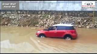 Кроссовер Great Wall Haval M4 (Грейт Волл Хавал М4) река, грязь, бездорожье