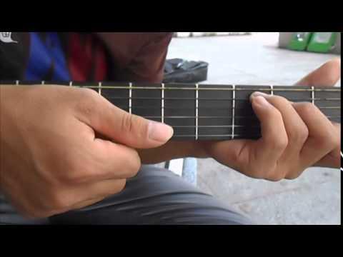 [guitar] HD guitar: Bài 4_Tuổi hồng thơ ngây (intro, quạt nâng cao).