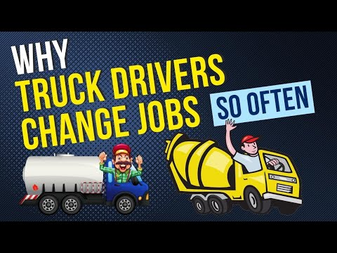 Why Truck Drivers Change There Jobs So Often British Trucking
