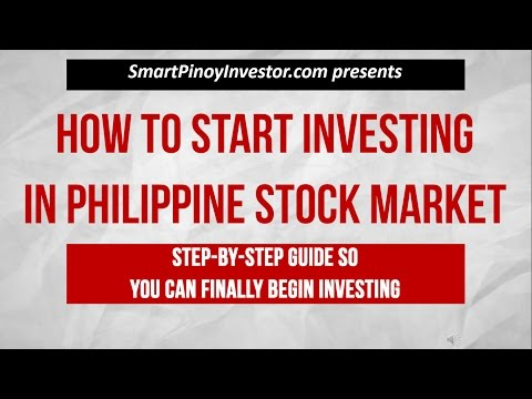 How to Start Investing in Philippine Stock Market for Beginn