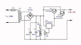 видео Регулируемый стабилизатор напряжения с регулируемым оганичением выходного тока
