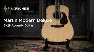 Martin Modern Deluxe D-28 Acoustic Guitar - Demo and Specifications