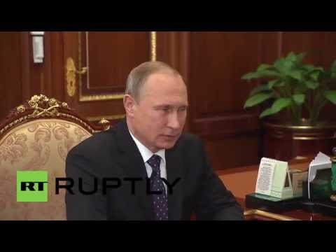 Russia: Putin briefed on increased investment in Moscow infracture by Mayor Sobyanin