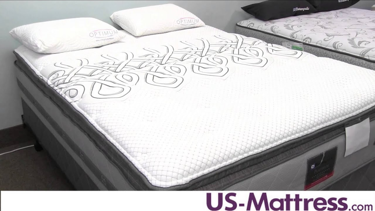 Sealy Posturepedic Platinum Adorned Firm Euro Pillow Top Mattress