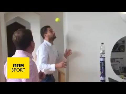 Wimbledon 2017: The best of #bottletopple - BBC Sport