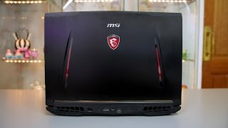 mSI GT62VR 6RE Dominator Pro Review by Tanel