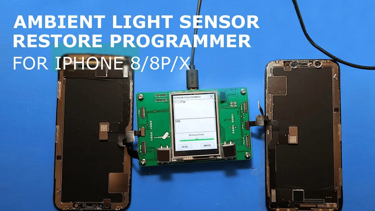 Ambient Light Sensor Failure Re Programmer For Iphone 8 8p X Union Repair