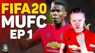 FIFA 20 Manchester United Career Mode! GOLDBRIDGE Episode 1