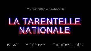 """Playback de la tarentelle """"TARENTELLE NATIONALE"""" composition Emmanuel Rolland"""