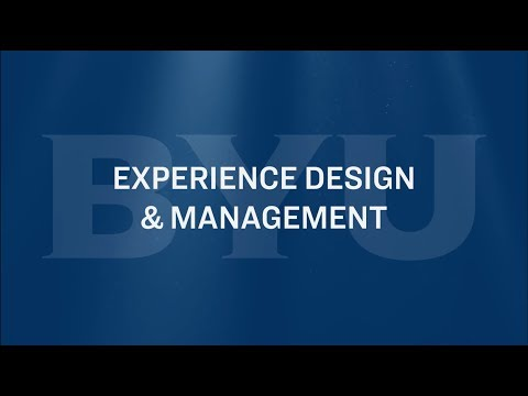 Experience Design & Mgmt Major Snippets