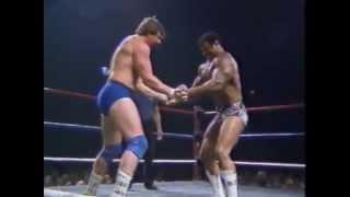 Roddy Piper Vs Rocky Johnson