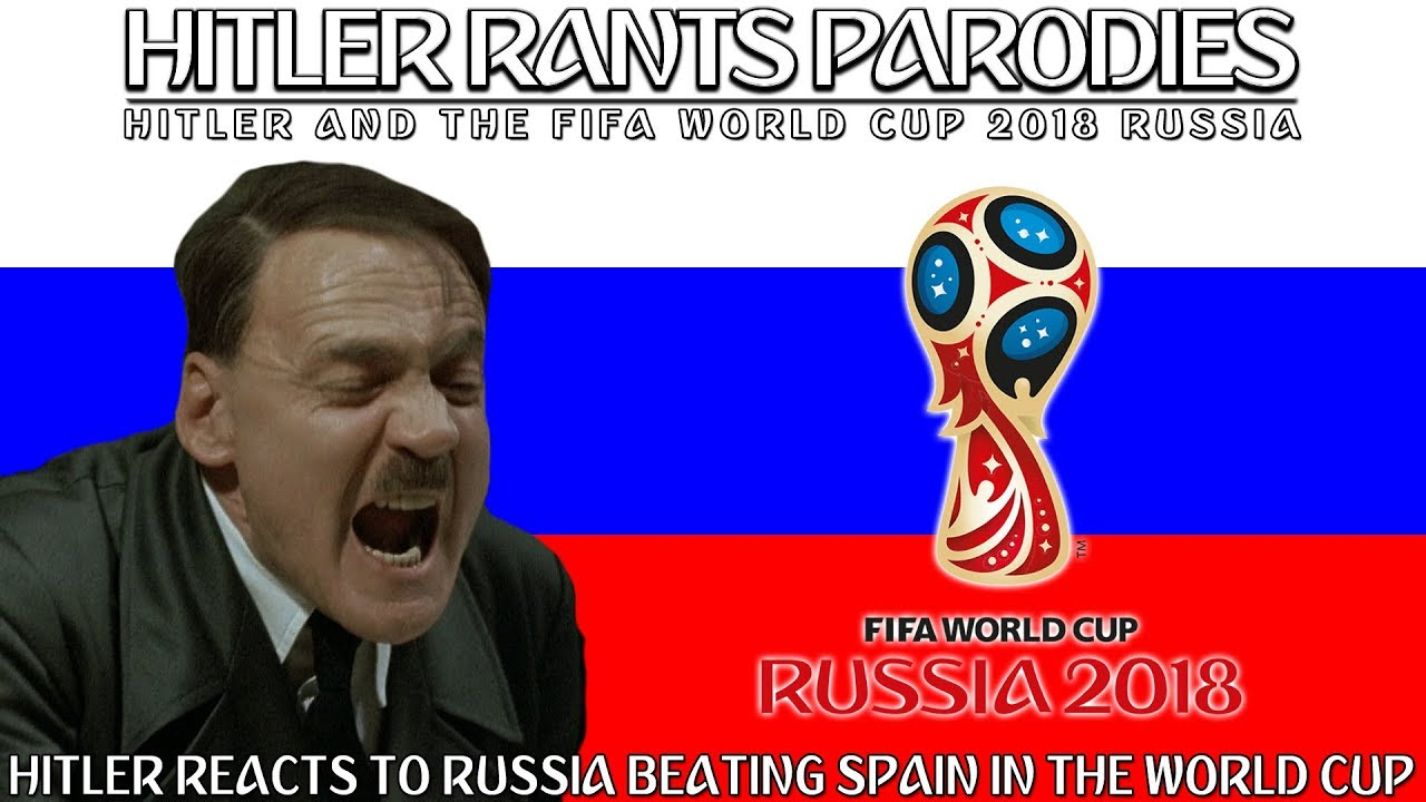 Hitler reacts to Russia beating Spain in the World Cup