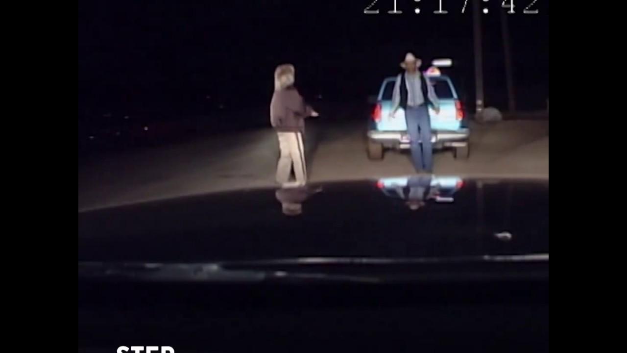 Как в США полиция проверяет на трезвость водителей