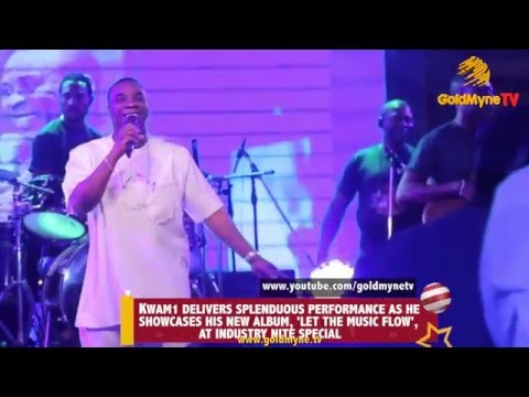 KWAM1 DELIVERS SPLENDIOUS PERFORMANCE AS HE SHOWCASES HIS NEW ALBUM, 'LET THE MUSIC FLOW'