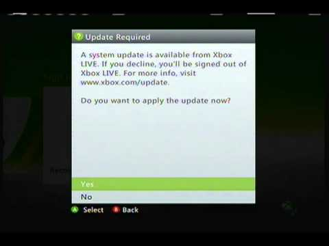 E81 update error on xbox 360 slim (trinity)