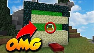 PIÉGER DES JOUEURS DANS LE NETHER - BEDWARS Minecraft