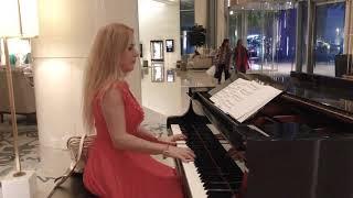 Gloria Estefan- Don't Wanna Lose You - Piano Cover by Dessi - Wedding Pianist in Dubai