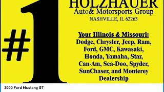 2000 Ford Mustang Holzhauer Auto and Motorsports Group 238816