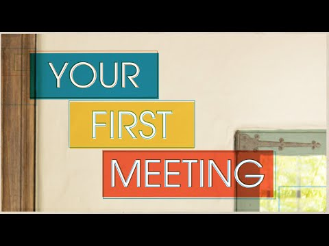Financing Your Venture: Angel Investment  Your First Meeting with an Angel