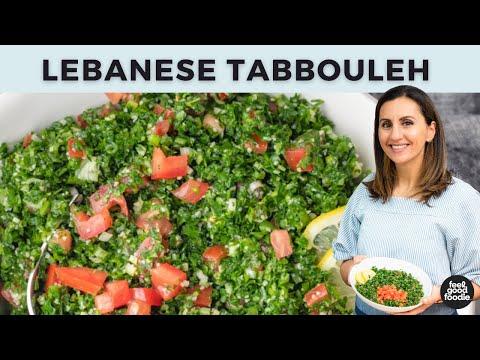 Lebanese Tabbouleh Salad