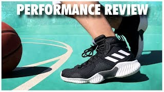 galope omitir Arturo  adidas Pro Bounce Performance Review - YouTube