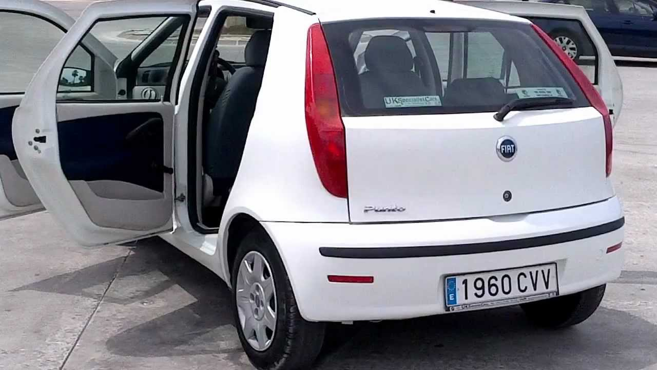 2004 fiat punto 1 2 dynamic 5dr for sale in spain youtube. Black Bedroom Furniture Sets. Home Design Ideas