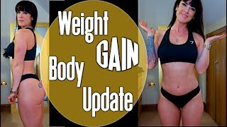 I have Gained Weight | Physique Update | Healthy Eating Grocery Haul | Quad Day