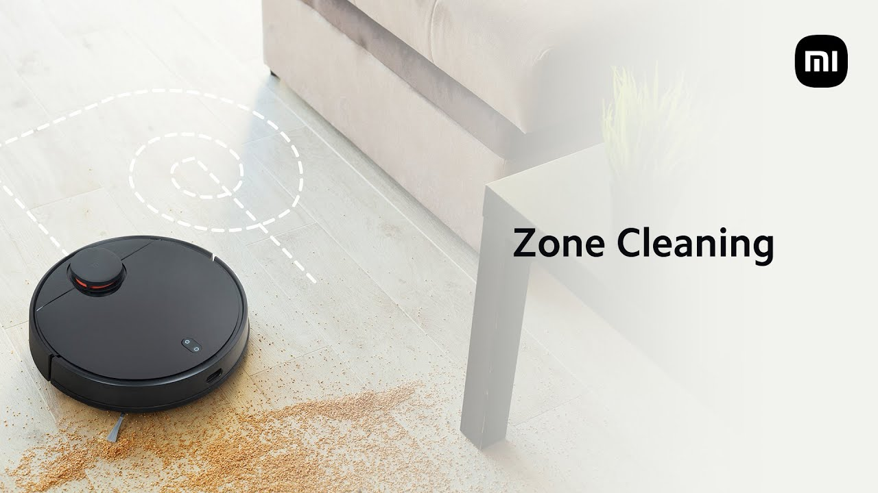 Mi Robot Vacuum-Mop P: Zone and Spot Cleaning