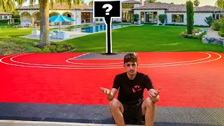We NEEDED to do this to Faze Rug's Basketball Court...