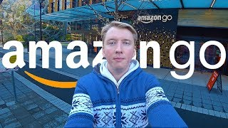 Американский магазин БЕЗ КАСС - AMAZON GO обзор в США