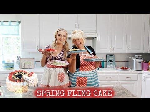 Spring Fling Cake   Rydel Lynch
