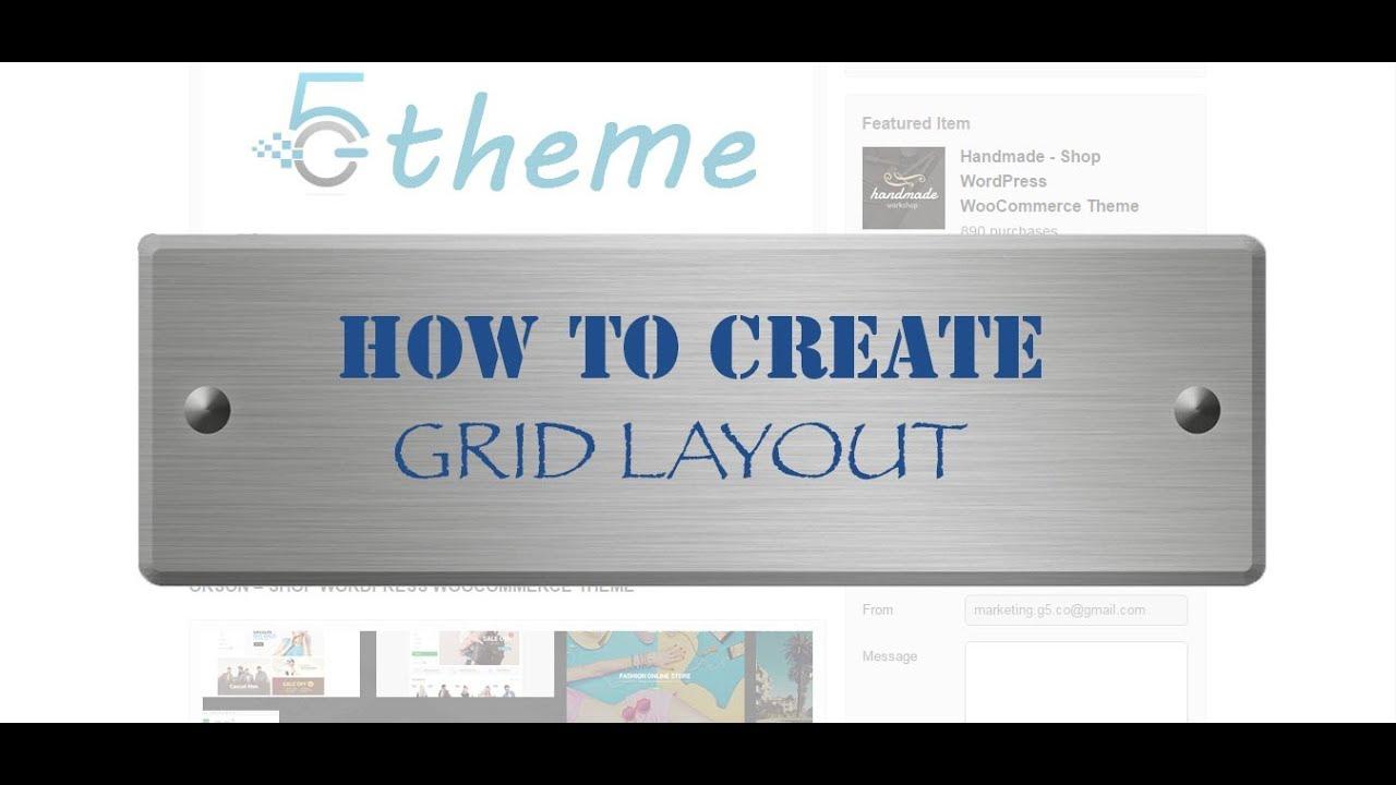 Grid Plus – Unlimited grid layout – WordPress plugin