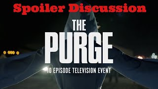 The Purge TV Series Season 1 Episode 1 Spoiler Discussion Review