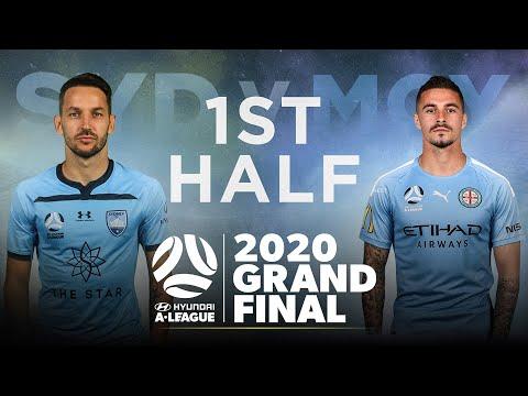 Hyundai A-League Grand Final 2019/20: Sydney FC v Melbourne City FC - First Half