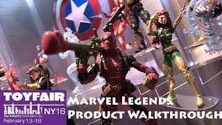 Marvel Legends Hasbro Product Walkthrough at Toy Fair 2016