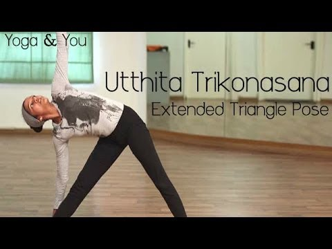 How to do Utthita Trikonasana (Extended Triangle Pose)