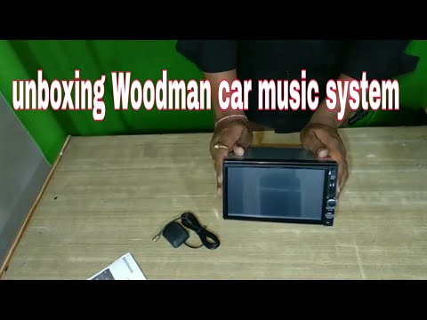 Car music system unboxing |hindi|,Woodman ,