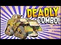Crossout - DEADLY COMBO! TOW MISSILE + FATMAN CANNON! - Crossout Gameplay