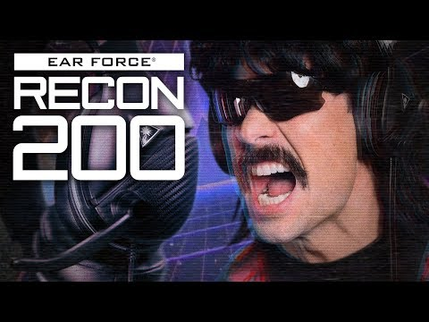 Dr. DisRespect's Secret Weapon. The New Turtle Beach Recon 200 Gaming Headset