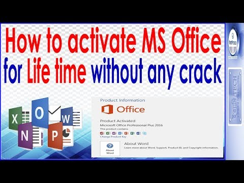 Ms Office 2016 Life Time Activation Without Key No Patch Or