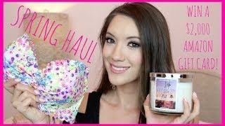 Spring Haul + Win A $2,000 Gift Card!!!!!! | Blair Fowler Thumbnail